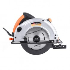 Circular saw STORM 1200 W, 4500 rpm, cutting depth (90°) 63 mm, cutting depth (45°) 38 mm, blade diameter 20 mm/185 mm INTERTOOL WT-0614: фото 2