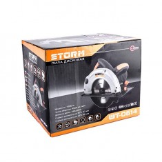 Circular saw STORM 1200 W, 4500 rpm, cutting depth (90°) 63 mm, cutting depth (45°) 38 mm, blade diameter 20 mm/185 mm INTERTOOL WT-0614: фото 9