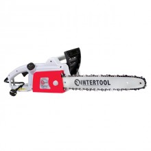 Chain saw 1800W, 400rpm, guide plate 405mm, 230V INTERTOOL DT-2201