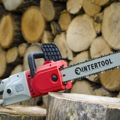 Chain saw 2000W, 670rpm, guide plate 405mm, 230V INTERTOOL DT-2204: фото 17