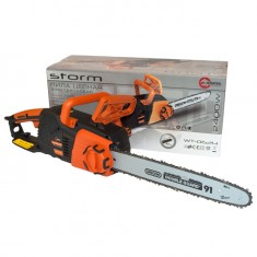 Chain saw STORM 2400W, 13.5mps, guide plate 405mm, 230V INTERTOOL WT-0624: фото 15