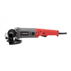 Angle grinder 1650 W, 8000 rpm, 180 mm, locking device INTERTOOL DT-0218: фото 2