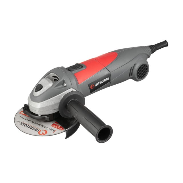 Angle grinder 710W, 12000rpm, disc diameter 125mm INTERTOOL DT-0266