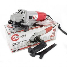 Angle grinder 860 W, 11000 rpm, 125 mm INTERTOOL DT-0267: фото 9