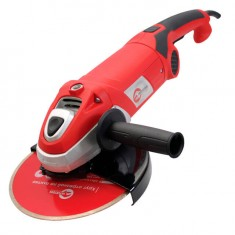 Angle grinder 2500W, 6500rpm, disc diameter 230mm, smooth start, turning handle INTERTOOL DT-0295