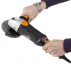 Angle grinder STORM, 900 W,125 mm, 0-10000 rpm INTERTOOL WT-0204: фото 14