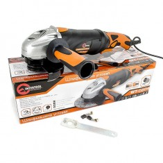 Angle grinder STORM, 900 W,125 mm, 0-10000 rpm INTERTOOL WT-0204: фото 15