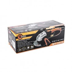 Angle grinder STORM, 650 W, 125 mm, 10000 rpm INTERTOOL WT-0206: фото 8