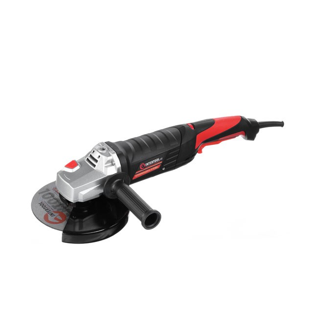 Angle grinder STORM, 1400 W, 150 mm, 0-8000 rpm INTERTOOL WT-0209