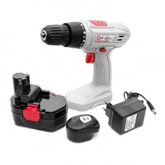 Cordless drill 18V, 1 battery, 1,2Ah, chuck jaw width, min./max. 1/10 INTERTOOL DT-0312: фото 11
