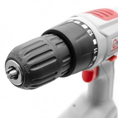 Cordless drill 18V, 1 battery, 1,2Ah, chuck jaw width, min./max. 1/10 INTERTOOL DT-0312: фото 13