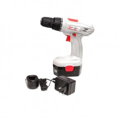 Cordless drill 18V, 1 battery, 1,2Ah, chuck jaw width, min./max. 1/10 INTERTOOL DT-0312: фото 2