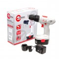 Cordless drill 18V, 1 battery, 1,2Ah, chuck jaw width, min./max. 1/10 INTERTOOL DT-0312