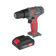 Cordless drill 18V, 2 batteries, 1 hour charging, 2 speed INTERTOOL DT-0315: фото 10