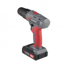 Cordless drill 18V, 2 batteries, 1 hour charging, 2 speed INTERTOOL DT-0315: фото 3