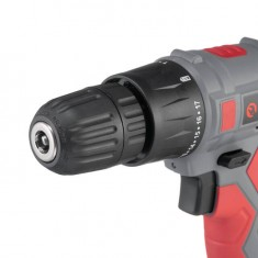 Cordless drill 18V, 2 batteries, 1 hour charging, 2 speed INTERTOOL DT-0315: фото 7