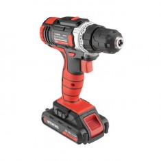 Cordless drill STORM, 18 V, 2 speed, 0-900 rpm, 2 batteries, torque control INTERTOOL WT-0314: фото 2