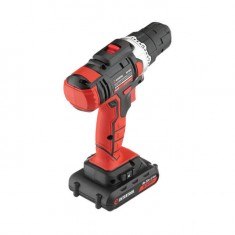Cordless drill STORM, 18 V, 2 speed, 0-900 rpm, 2 batteries, torque control INTERTOOL WT-0314: фото 3