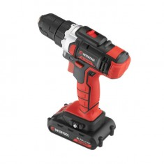 Cordless drill STORM, 18 V, 2 speed, 0-900 rpm, 2 batteries, torque control INTERTOOL WT-0314: фото 4