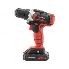 Cordless drill STORM, 18 V, 2 speed, 0-900 rpm, 2 batteries, torque control INTERTOOL WT-0314: фото 5