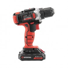 Cordless drill STORM, 18 V, 2 speed, 0-900 rpm, 2 batteries, torque control INTERTOOL WT-0314: фото 6