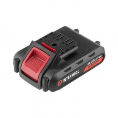 Cordless drill STORM, 18 V, 2 speed, 0-900 rpm, 2 batteries, torque control INTERTOOL WT-0314: фото 9