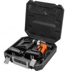 Cordless drill STORM, 18 V, 2 speed, 0-400/0-1150 rpm, 2 batteries, 1 hour charging INTERTOOL WT-0318: фото 2