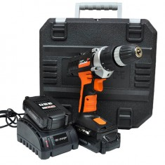 Cordless drill STORM, 18 V, 2 speed, 0-400/0-1150 rpm, 2 batteries, 1 hour charging INTERTOOL WT-0318: фото 7