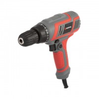 Scredriver 280W, 220V, 0-750rpm, chuck jaw width, min./max. 1.0/10mm, reverse, torque settings 23+1 INTERTOOL DT-0103