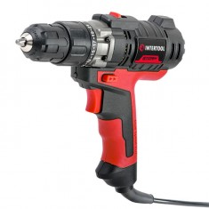 Drill STORM 420 W, 0-850 rpm, 1.0-10 mm, level INTERTOOL WT-0104: фото 2