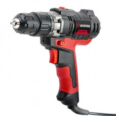 Drill STORM 420 W, 0-850 rpm, 1.0-10 mm, level INTERTOOL WT-0104: фото 3
