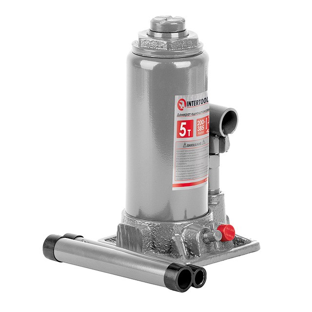 Bottle jack 5 T INTERTOOL GT0023
