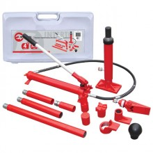 Long ram jacks set, hydraulic, 4 T INTERTOOL GT0200