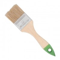 Flat paint brush 25x10x42mm INTERTOOL KT-1225