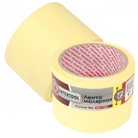 Painting tape 72 mm, 20 m, yellow INTERTOOL DM-7220