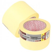 Painting tape 72 mm, 40 m, yellow INTERTOOL DM-7240