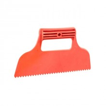 Plastic spatula with gears 230 mm INTERTOOL KT-2811