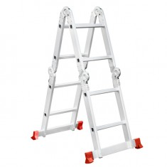 Aluminum ladder transformer multifunctional 4x2 steps 2,50 m INTERTOOL LT-0028