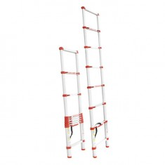 Aluminum ladder telescopic 8 steps 2,60 m INTERTOOL LT-3026: фото 2