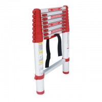 Aluminum ladder telescopic 8 steps 2,60 m INTERTOOL LT-3026