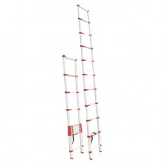 Aluminum ladder telescopic 10 steps 3,20 m INTERTOOL LT-3032: фото 2