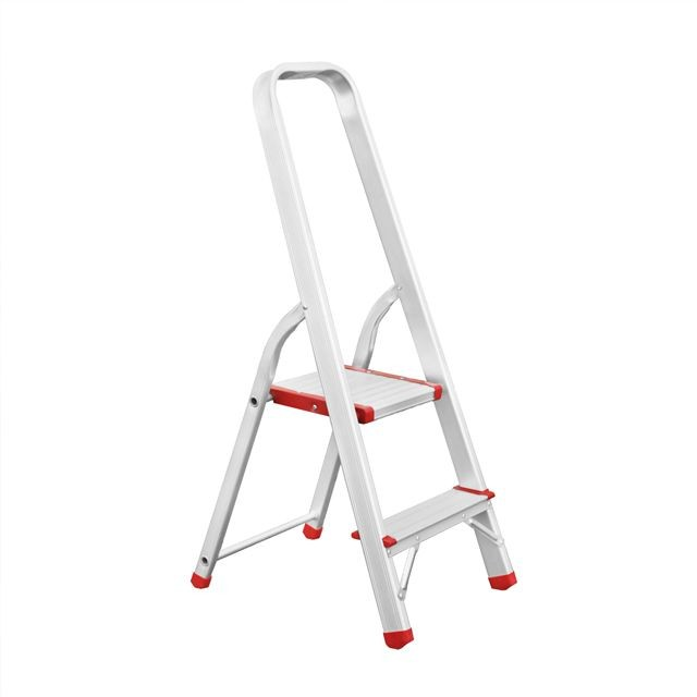 Aluminum stepladder 2 steps height till platform 410 mm INTERTOOL LT-1002