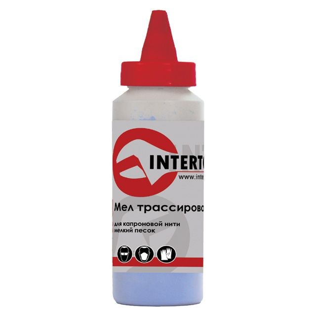 Chalk 115 g, red INTERTOOL MT-0006