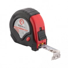 Tape measure 5mx19mm three locks INTERTOOL MT-0105