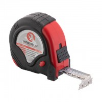 Tape measure 8mx25mm three locks INTERTOOL MT-0108