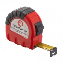 Tape measure with lock 8mx25mm INTERTOOL MT-0208