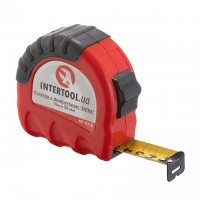 Tape measure with lock 10mx25mm INTERTOOL MT-0210