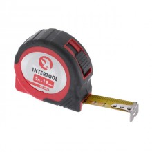 Tape measure 5mx19mm, autolock INTERTOOL MT-0405