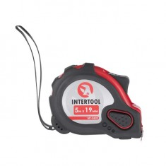 Tape measure with lock 5mx19mm INTERTOOL MT-0605: фото 2