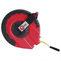 Tape measure (glass fibre tape) 50mx15mm INTERTOOL MT-0765